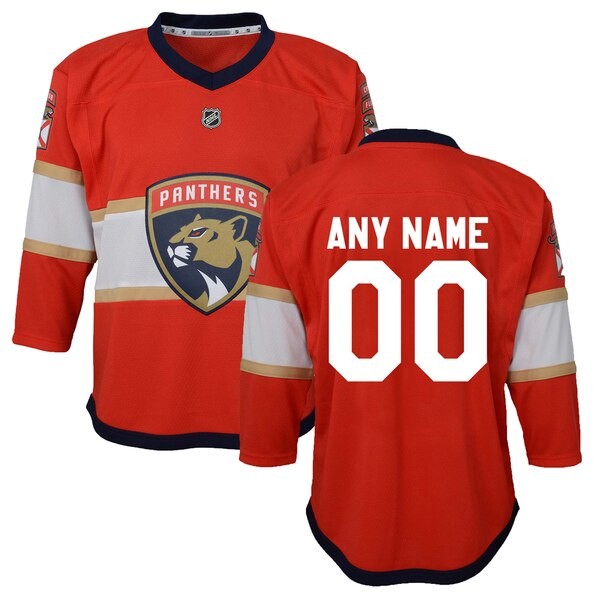 Infant Florida Panthers Red Home Replica Custom Je cheap hockey jerseys reversible mesh